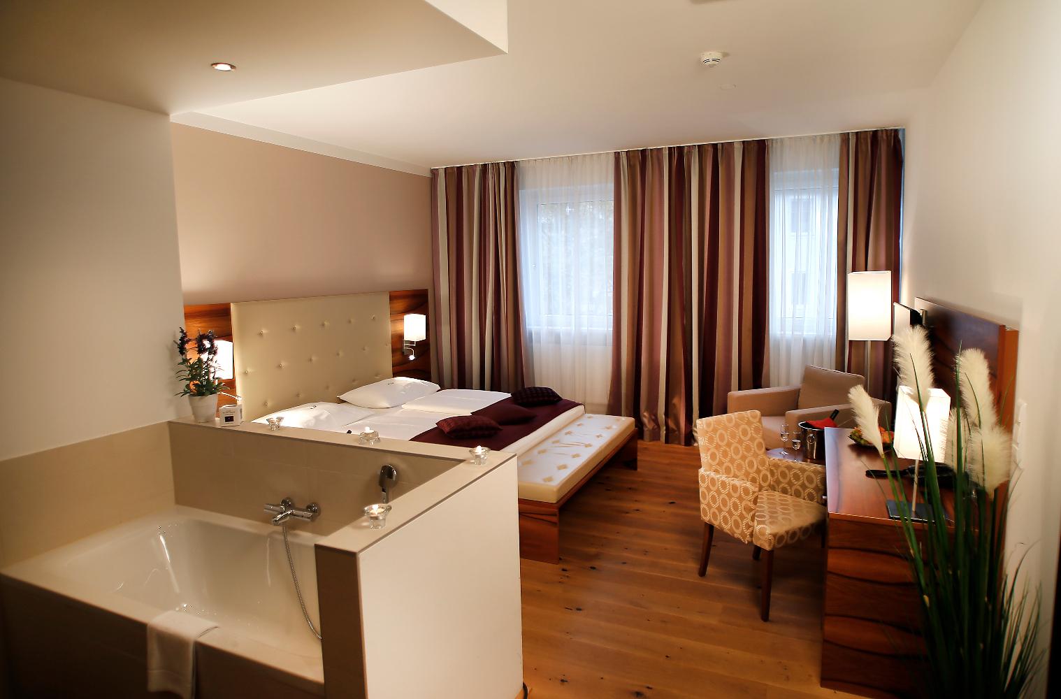 Bagno Aperto In Camera : Le camere hotel feichtinger